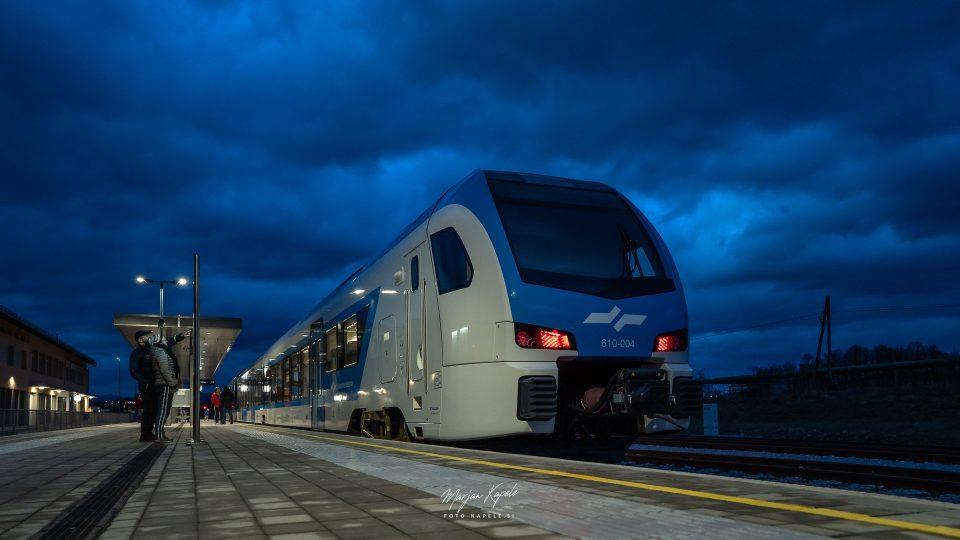 Slovenske železnice, železniška postaja Kočevje