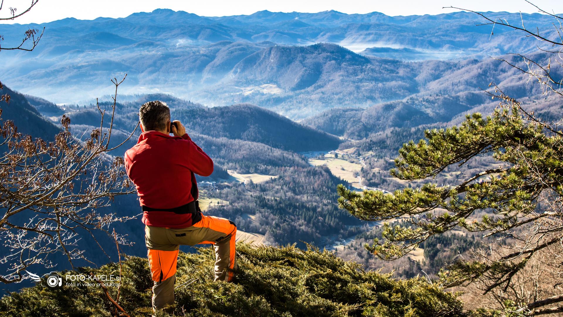 Komercialno fotografiranje za turizem, pohodništvo, rekreacija, narava