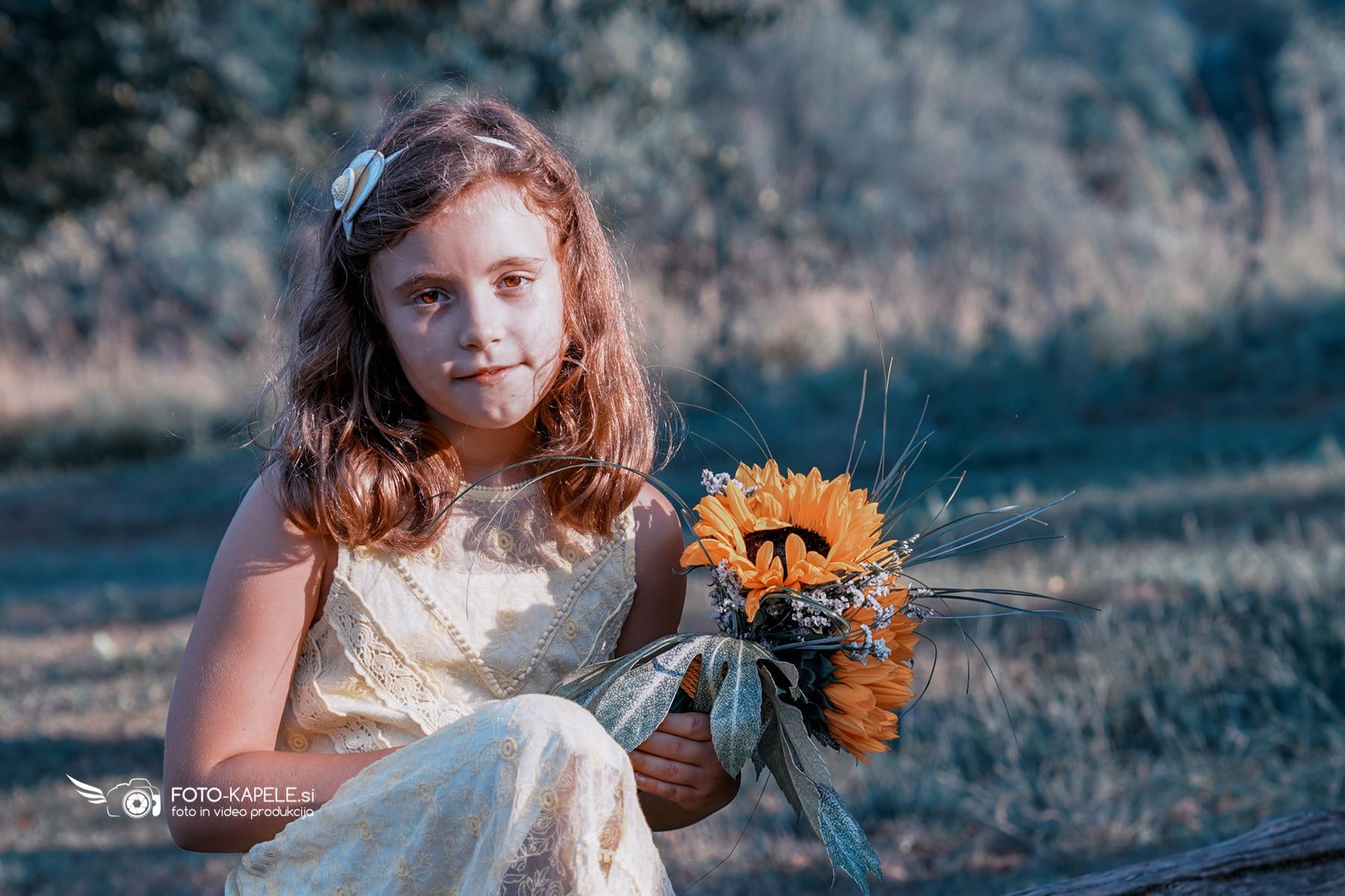 Fotografiranje otrok v naravi: foto-kapele.si
