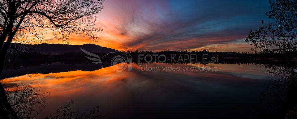 Rudniško jezero Kočevje: foto-kapele.si