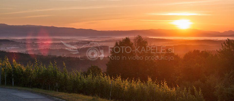 Bela krajina, vzhod sonca