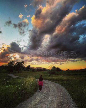 Sprehod okoli rudniškega jezera, Kočevsko