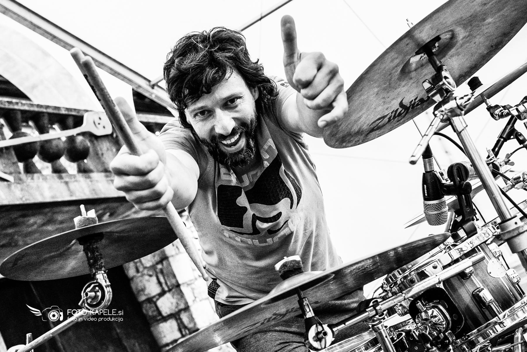 Kingston - bobnar Klemen Ogrizek, Ribnica